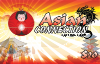 Asian Connection $20