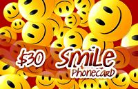 Smile Phone Card $30